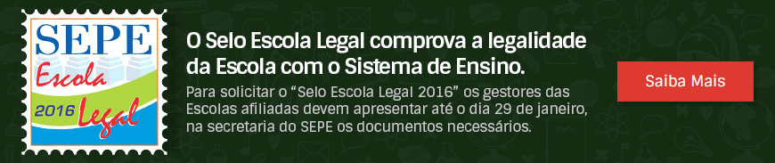 SEPE-GO Selo Escola Legal 2016